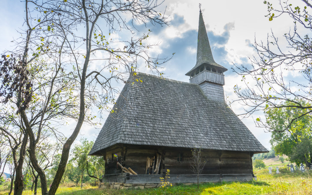 """Biserica de lemn """"Sfinţii Arhangheli"""" din Ungureni"""