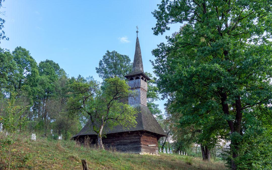 """Biserica de lemn """"Intrarea în Biserică"""" din Dobricu Lăpușului"""