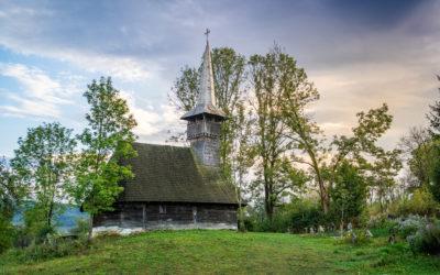 """Biserica de lemn """"Sfinții Arhangheli Mihail și Gavril"""" din Dobricu Lăpușului"""