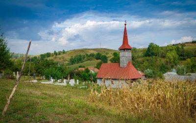 """Biserica de lemn """"Sfânta Maria"""" din Fântânele"""