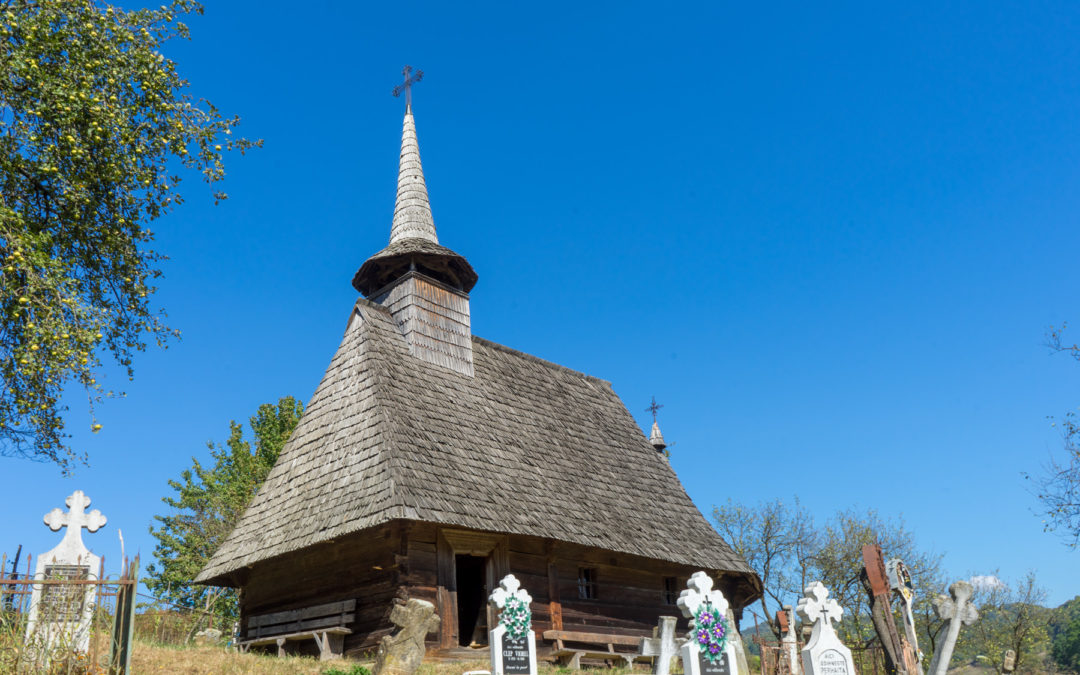 "Biserica de lemn ""Sfântul Dumitru"" din Larga"