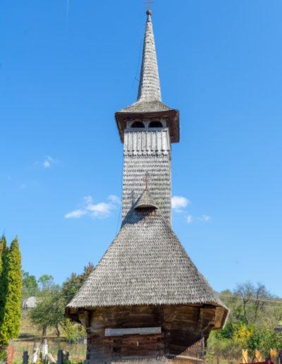 """Biserica de lemn """"Sfinții Arhangheli"""" din Vima Mică;"""