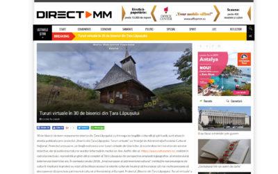 Tururi virtuale în 30 de biserici din Țara Lăpușului (www.directmm.ro)
